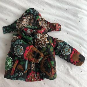 Burberry baby puffer 18m+